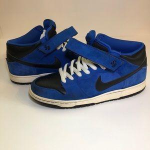 Men's Nike SB mid dunk J Pack Royal Blue